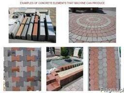 Блок-машины для производства тротуарной плитки, блоков