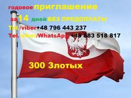 Виза в Европу. Работа в Польше. Бесплатная учеба в Польше