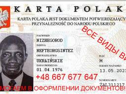 Визы, помощь в легализации иностранцев