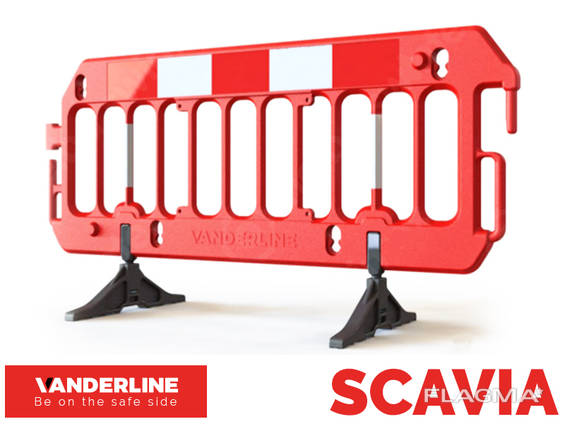 Мобильные ограждения Vanderline U-20 Scavia