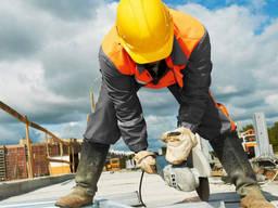 Выполнение строительных работ. Строительная фирма.