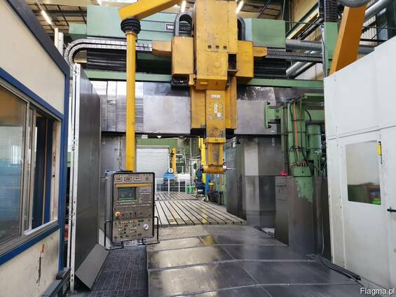 Waldrich Siegen CNC Portal milling machine type PCM 3000