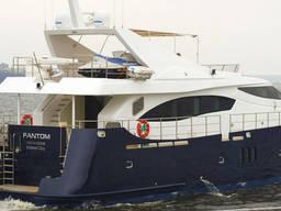Яхта моторная 24метра