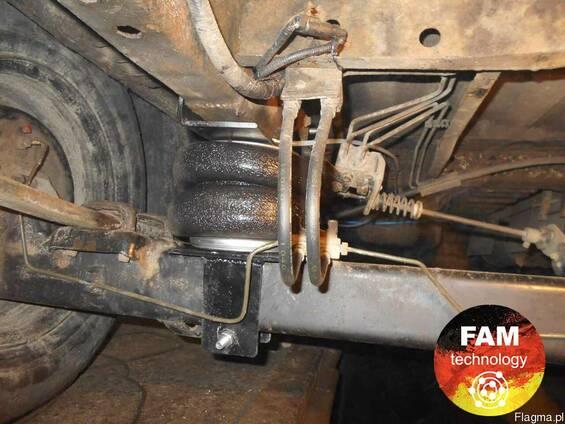 Zawieszenie pneumatyczne Ford Transit przednie koła napędowe